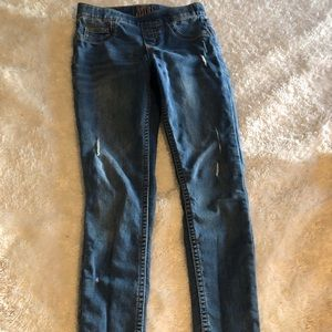 Justice jeggings size 10